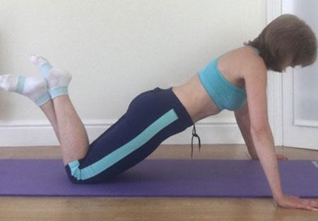 Correct body alignment
